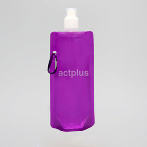 Foldable Bag Water Collapsible Bottle Cups Folding Plastic New Outdoor Sport