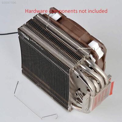 1D5D 9cm Sliver Exquisite Metal Clip CPU Fix Gadget Computer Fan Iron Buckle