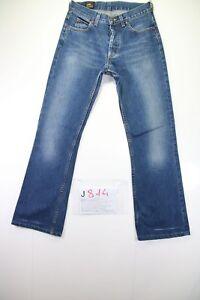 Lee-Bootcut-Cod-J814-Tg42-W28-L30-jeans-used-High-Waist-vintage-Flared