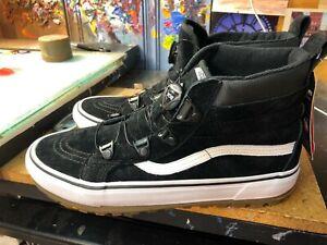 Vans Sk8-Hi MTE BOA Black/True White Suede US 13 Men VN0A3ZCGDX6 New ...