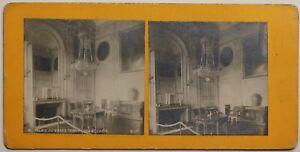 Palais Del Grand Trianon Boudoir Francia Foto Stereo Vintage Analogica