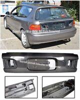 For 92-95 Honda Civic Eg6 3dr Oe Factory Style Carbon Fiber Rear Trunk Lid Kit