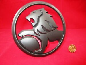 HOLDEN-LION-Logo-Badge-Rear-MATTE-BLACK-VY-Commodore-S-SS-69mm