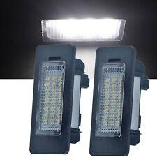 Pair 24 LED Error Free License Plate Lights for BMW E39 E60 E70 E82 E90 E92 US