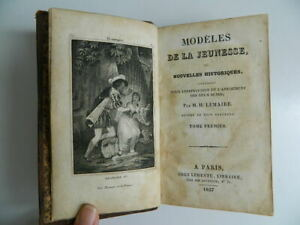 Modelli Della Jeunesse O Nuovo Storici Lemaire T1 Ledentu 1827
