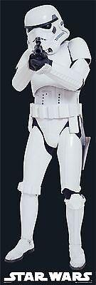 """STAR WARS - DOOR MOVIE POSTER (STORMTROOPER WITH GUN) (SIZE: 21"""" X 62"""")"""