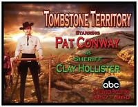 Tombstone Territory Fridge Magnet. 4x5. Pat Conway As Clay Hollister...free Ship