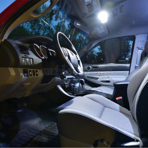 12pcs White Reverse Tag Interior LED Lights Fit For 97-15 Chevy Corvette C5