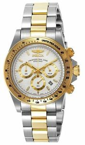 Invicta-9212-Men-039-s-Speedway-White-Dial-Chronograph-Watch