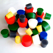 Xxl 34 To 2 High Temp Silicone Rubber Stopper Powder Coating Plug Kit Set