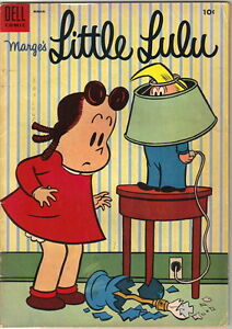 Details About Marge S Little Lulu Comic Book 81 Dell Comics 1955 Very Good