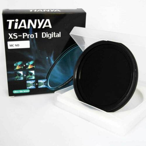 Filtro ND Variabile 72mm 2-8 Stop TianYa VND Professionale panno omaggio