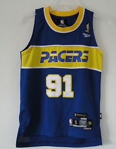 ac28898e7 Image is loading THROWBACK-NEW-Reebok-Indiana-Pacers-RON-ARTEST-HARDWOOD-