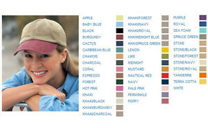 2f9fab6f3de91 12 CUSTOM LOGO EMBROIDERED Adams 6-Panel Low-Profile Washed Pigment ...