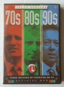 Telly-Addicks-70s-80s-90s-Official-Charlton-FC-Football-UK-Region-2-Sport-DVD