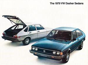 1974 Volkswagen VW Dasher Sales Brochure Sheet