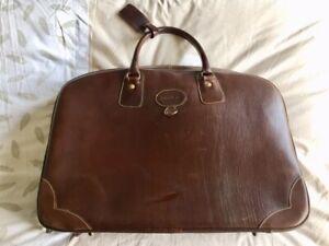 Détails sur Sac de voyage en cuir Bowen no Longchamp