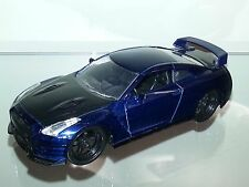 1/32 JADA FAST & FURIOUS BRIAN'S 2009 NISSAN SKYLINE GTR R-35 BLUE