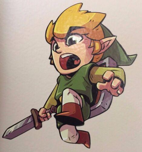 Zelda Link Tri Force Chibi Vinyl Decal Sticker Graphic CUSTOM