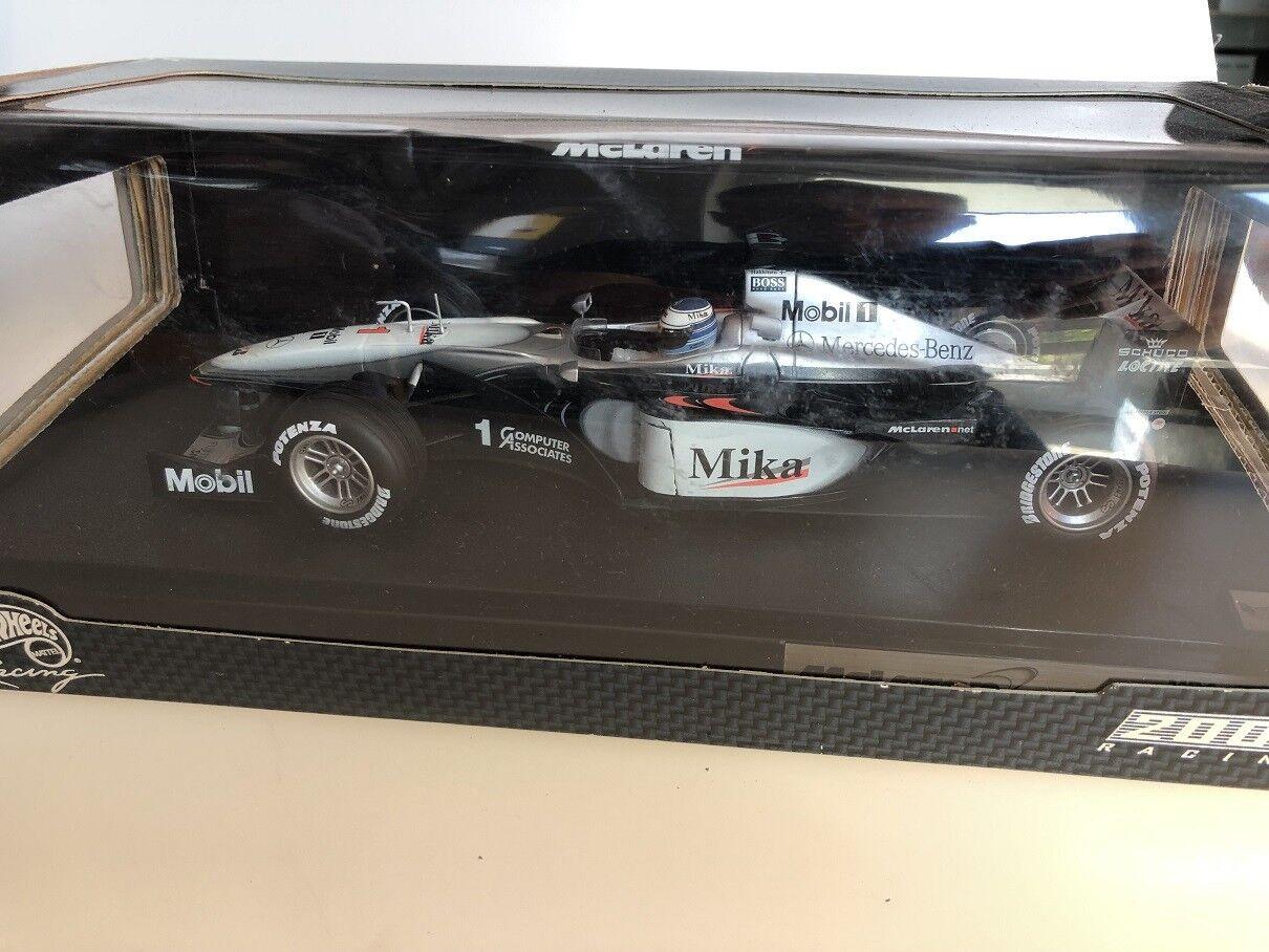 tienda de venta en línea 1 18 18 18 Hot Wheels Mclaren MP4-15 Mika Hakkinen  producto de calidad