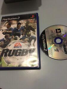 Jeu-Playstation-2-Ps2-Pal-Fr-ea-sports-rugby-sport-collectif-ballon
