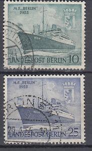 Berlin-1955-Mi-Nr-126-127-Gestempelt-LUXUS