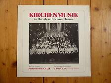 Chiese musica in Cuore di Gesù Bochum-HAMME Cornelia Noeske Klaus Wolters RAR! LP
