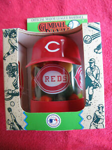 "Cincinnati Reds Gumball Bank 8-3/8"" x 5-1/2"" - Never Opened"