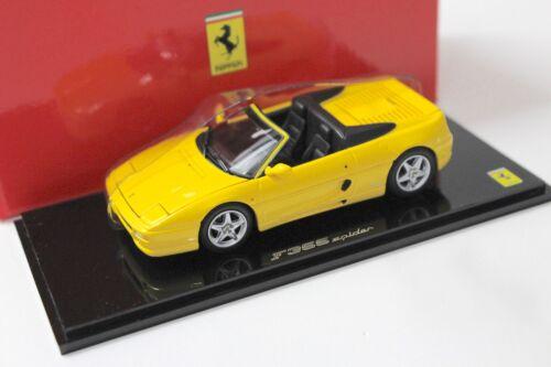 1:43 Kyosho FERRARI f355 spider Yellow