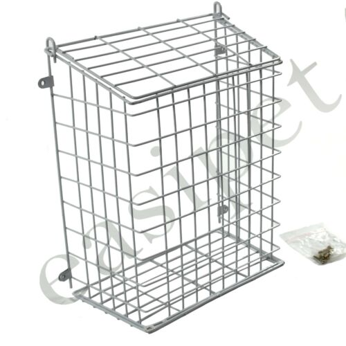 Front Door Letter Box Cage Post Mail Catcher Guard White Medium Large XLarge