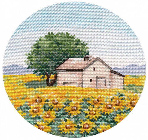 "/""Thumbnail Sunflowers/"" Counted Cross Stitch Kit OVEN 1285"