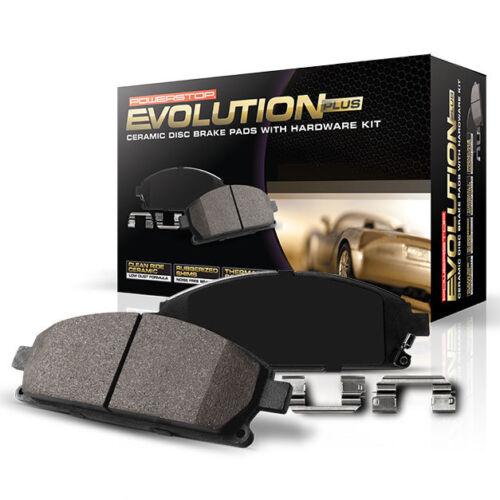 Disc Brake Pad and Hardware Kit-Z17 Evolution Plus Rear POWER STOP 17-996