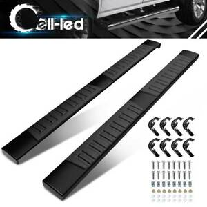 For 07-18 Silverado Sierra 1500 2500HD Crew Cab Running Board Side Step Nerf Bar