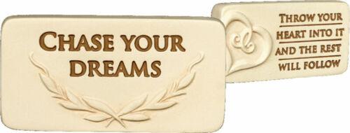 Inspirational Pocket Charm Token Believe Faith Wisdom Dreams Serenity Angelstar