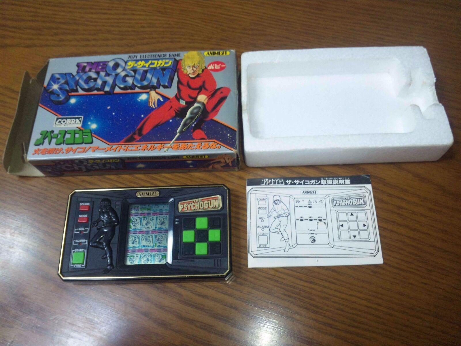 Reloj de juego el espacio psychogan aventura cobra Popy Japón Juego de electrónica