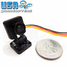 FPV Micro Camera with Adjustable Mount 720P NTSC 110 Degree 3g for Racing Drones