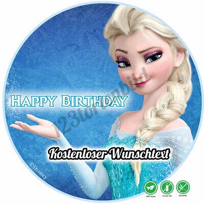 Tortenaufleger Geburtstag Tortenbild Zuckerbild Disney Frozen Figuren