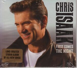 CHRIS-ISAAK-First-Comes-the-Night-new-sealed-2015-Vanguard-USA-card-sleeve