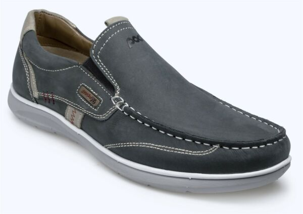 Abundante Pod Hombre Featherlite Osprey Zapatos Azul Marino En Talla Uk6 To Uk15