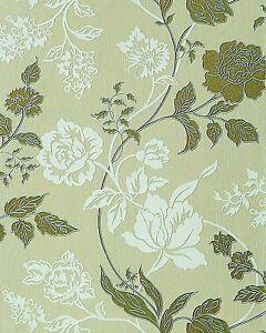 EDEM 116 25 Design Flower Floral Wallpaper Light