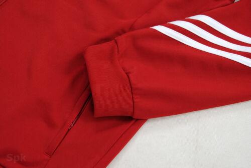 Adidas Sereno Full Mens Zip Tracksuit Jogging Top Bottoms 3 Stripe Size S XXL
