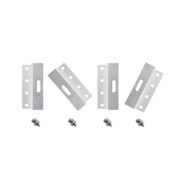 Solar Panel Mounting Brackets - Small (Up to 50w) & Large sizes (50w+) Set of 4.