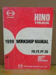 Hino Fd Fe Ff Sg Engine Service