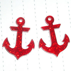 80s Retro Rockabilly Nautical Design Anchor Earrings Glitter Kitsch Kawaii - Norwich, Norfolk, United Kingdom - Returns accepted Most purchases from business sellers are protected by the Consumer Contract Regulations 2013 which give you the right to cancel the purchase within 14 days after the day you receive the item. Find out mo - Norwich, Norfolk, United Kingdom