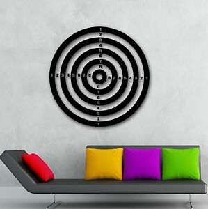 Image Is Loading Wall Stickers Vinyl Decal Darts Sport Target Shooting