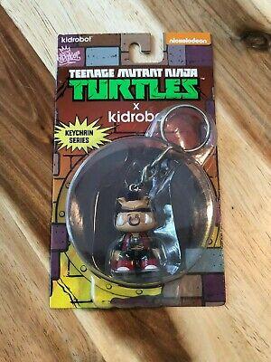Kidrobot Teenage Mutant Ninja Turtles Bebop Keychain Series TMNT
