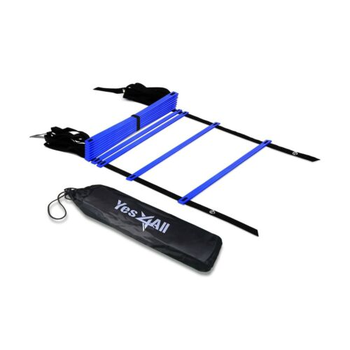 12  Rung Yes4All Speed Agility Ladder with Carry Bag