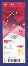 Orig.Ticket  Olympic Games LONDON 2012 - HOCKEY  Great Britain - Netherlands  !!