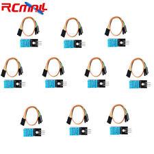 10pcs Dht11 Temperature Sensor Relative Humidity Module For Arduino
