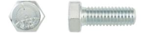 Sechskantschraube-1-4-20-UNC-x-5-8-Grd-5-verzinkt-Hex-Head-Cap-Screw-FT